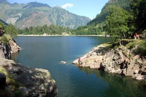 Antrona Valley, Lake, Italy