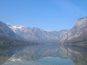 Bohinj Lake, Komna mountains, Slovenia