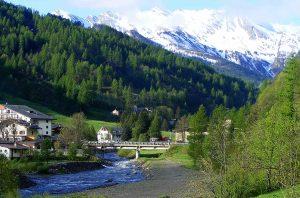 Germanasca creek near Prali, Italy
