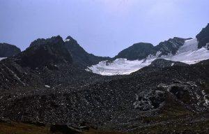 Getschnerscharte Pass, Madlener glacier, Austria