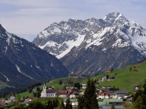 Grosser Widderstein, Hirschegg, Kleinwalsertal Valley, Austria