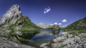 Lago Volaia Lake - Wolayer See, Austria