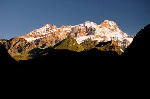 Monte Rosa mountains, Italy