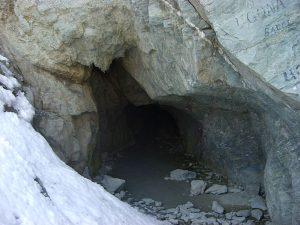 Monviso, Tunnel on the Italian side