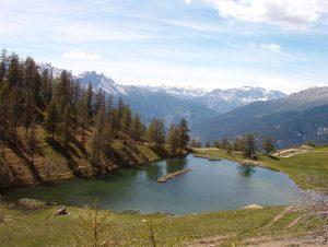 Parco Gran Bosco di Salbertrand, Laune Lake, Italy