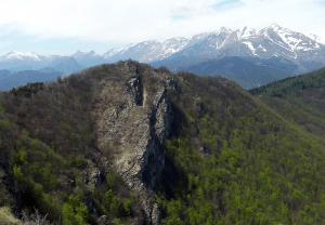 Rocca delle Penne mountain, Italy
