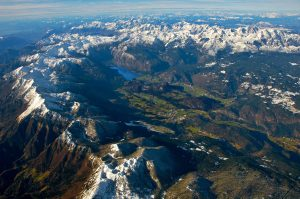 Spodnje Bohinj Gore mountain range, Slovenia