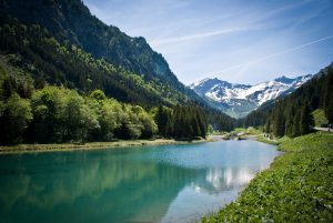Steg Reservoir, Liechtenstein