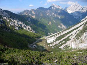 Zelenica Valley Slovenia